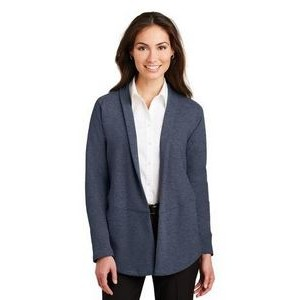 Port Authority® Ladies Interlock Cardigan Sweater