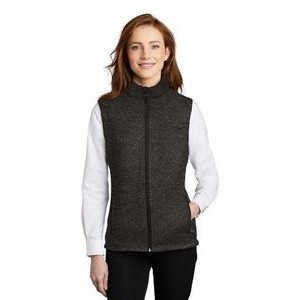 Port Authority® Ladies' Sweater Fleece Vest