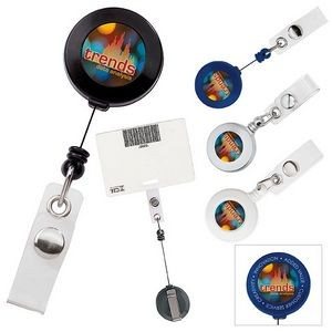 Good Value® Retractable Badge Holder w/Slide Clip